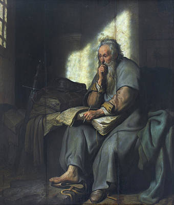 Prison Painting - St. Paul In Prison by Rembrandt