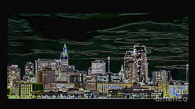 Photograph - St. Paul Skyline by Steven Parker