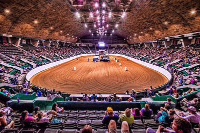 Photograph - St Paul State Fair Rodeo by RC Pics