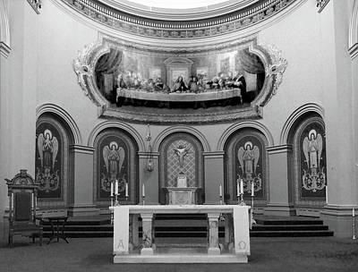 Photograph - St. Paul's Basilica Altar by David Pantuso