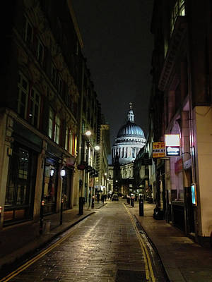 St. Pauls By Night Art Print
