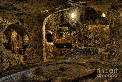St. Paul's Catacombs In Malta Art Print by Stephan Grixti