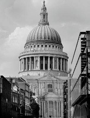 Photograph - St. Paul's Cathedral by David Cabana