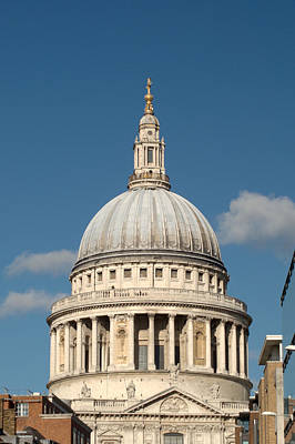 Photograph - St Pauls Cathedral From The South by Chris Day