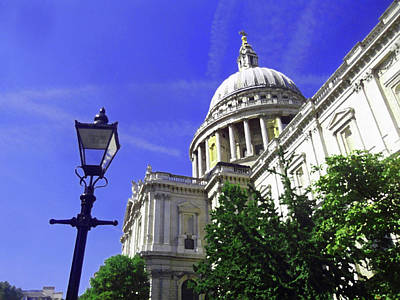 Painting - St Pauls Cathedral, London by Richard James Digance