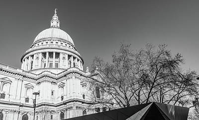 Photograph - St Paul's Cathedral   by Roger Lighterness