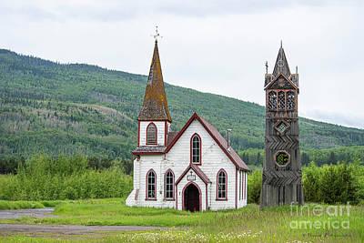 Photograph - St Pauls Church Kitwanga Bc Canada by David Arment