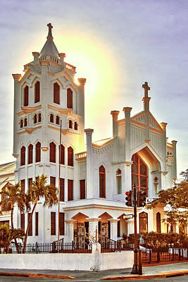 Photograph - St. Paul's Episcopal Church - Key West by Bob Slitzan
