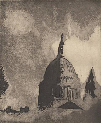Drawing - St. Paul's  by Erik Paul
