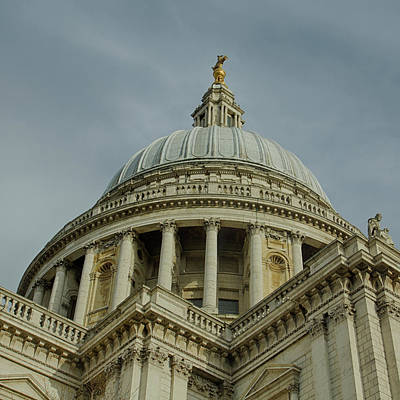 Photograph - St. Pauls In Color by Leah Palmer