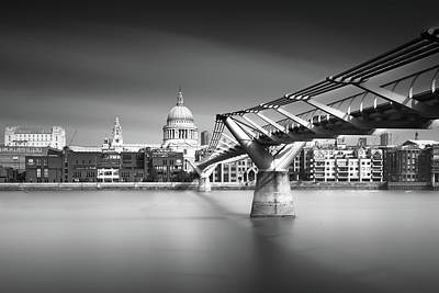 St Pauls London Photograph - St. Pauls by Ivo Kerssemakers