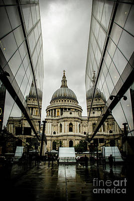 Photograph - St. Paul's On A Foggy London Day by Marina McLain