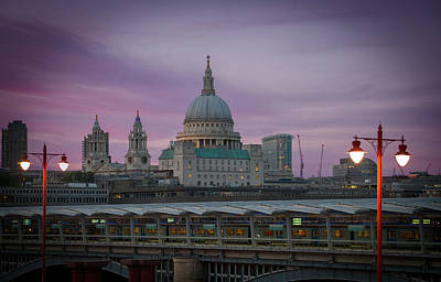 Photograph - St Paulsdusk by David French