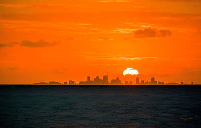 Photograph - St. Pete Fireball by Marvin Spates