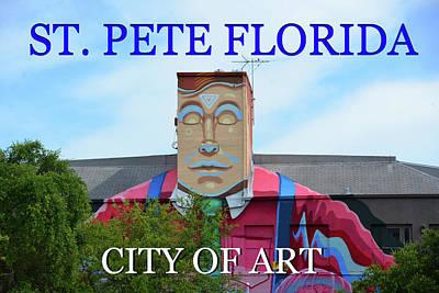 Photograph - St Pete Florida Man Art by David Lee Thompson