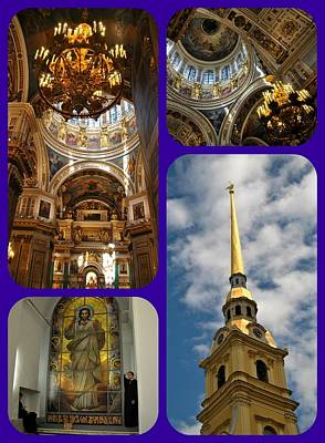Photograph - St. Peter And Paul Fortress And Cathedral by Jacqueline M Lewis