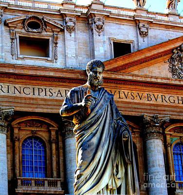 St Peter At The Vatican Art Print