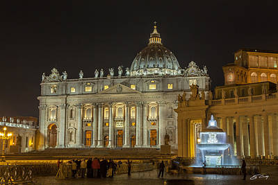 Photograph - St. Peter Basilica by Ed Cilley