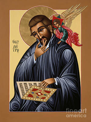 Painting - St Peter Canisius Doctor Of The Church 073 by William Hart McNichols