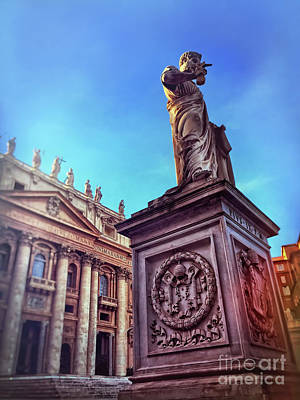 St Peter Print by HD Connelly