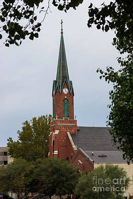 Photograph - St Peter Steeple by Jennifer White