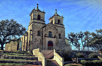 Photograph - St. Peter The Apostle Catholic Church 2 by Judy Vincent