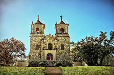 Photograph - St. Peter The Apostle Catholic Church by Judy Vincent