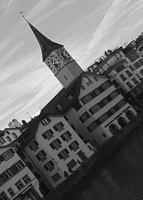 Photograph - St. Peter, Zurich by Matt MacMillan