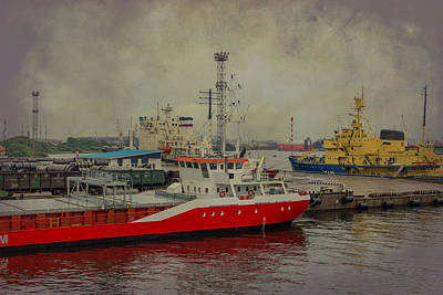 Photograph - St Peterburg Docks by Clare Bambers