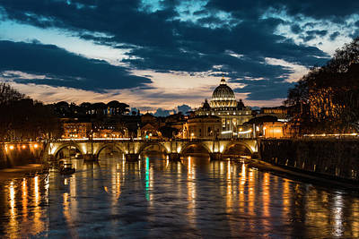 Photograph - St. Peter's Basilica 2 by Gary Lengyel