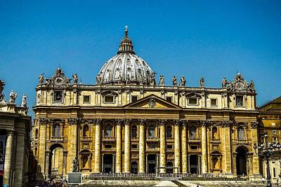 Photograph - St. Peter's Basilica by Marilyn Burton