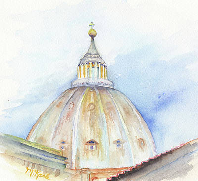Painting - St. Peter's Basilica by Marsha Karle