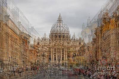 Icm Photograph - St. Peter's Basilica  by Richard Thomas