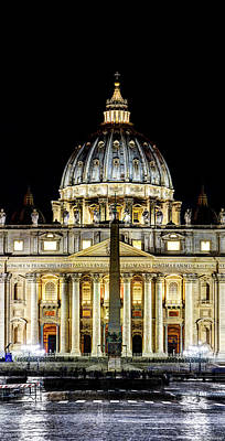 Photograph - St. Peter's Basilica  by Weston Westmoreland