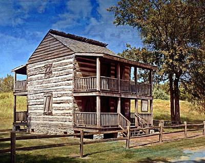 Photograph - St. Peters Cabin by Marty Koch
