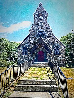 Photograph - St Peters Church By The Sea by Anne Sands