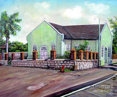 Painting - St. Peters Church by Ewan McAnuff
