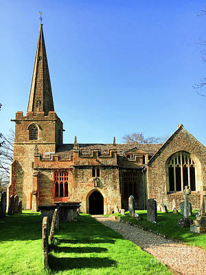 Photograph - St Peter's Church, Winchcombe by Tom Gowanlock
