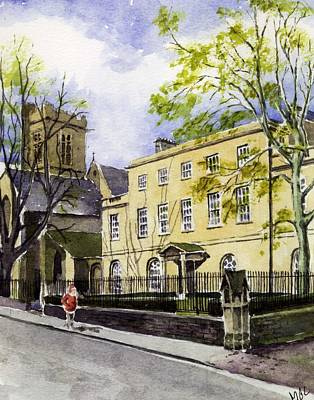 St. Peter's College Oxford Art Print by Mike Lester