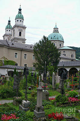 Photograph - St Peter's In Salzburg by Carol Groenen