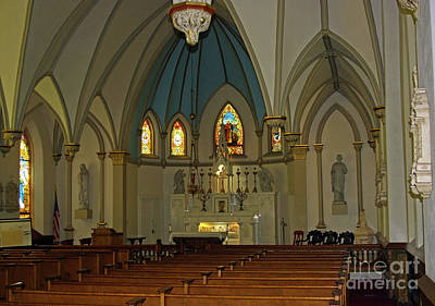 Photograph - St. Peter's Interior by Patti Whitten