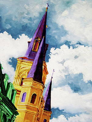 Painting - St. Peter's by Laura Pierre-Louis
