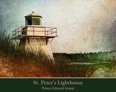 Photograph - St. Peter's Lighthouse by WB Johnston
