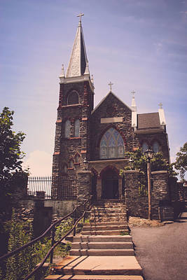 Harpers Ferry Photograph - St. Peter's Roman Catholic Church by Kim Hojnacki