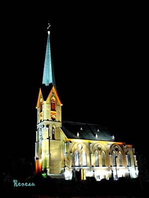 Photograph - St Peters Roman Catholic Church by Sadie Reneau