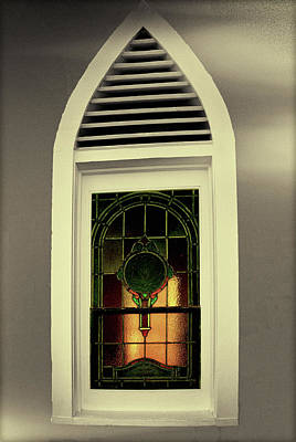 Photograph - St. Peter's Window by Joseph Hollingsworth