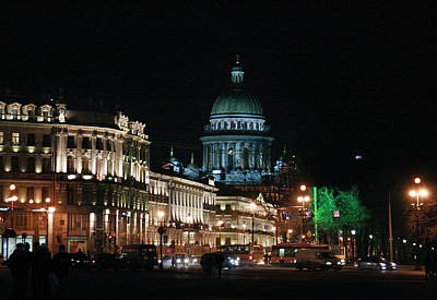 Photograph - St.-petersburg At Night by Masha Batkova