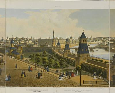 Coloured Painting - St. Petersburg by Celestial Images