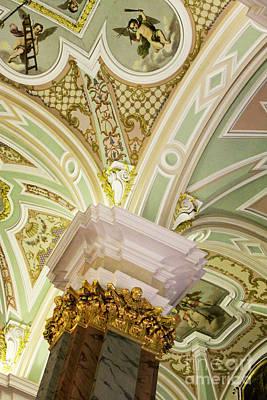 Photograph - St. Petersburg Interior by PJ Boylan