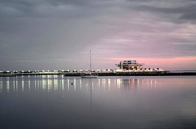 Photograph - St Petersburg Pier by Charles Bacon Jr